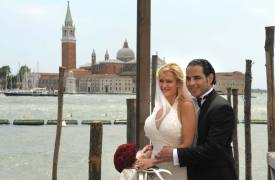 <p>Rozana and Gilberto, civil wedding in Venice</p>