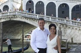 <p>Tatjana and Steven, civil wedding in Venice</p>
