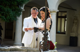 <p>Mario and Tammy, wedding in Verona</p>