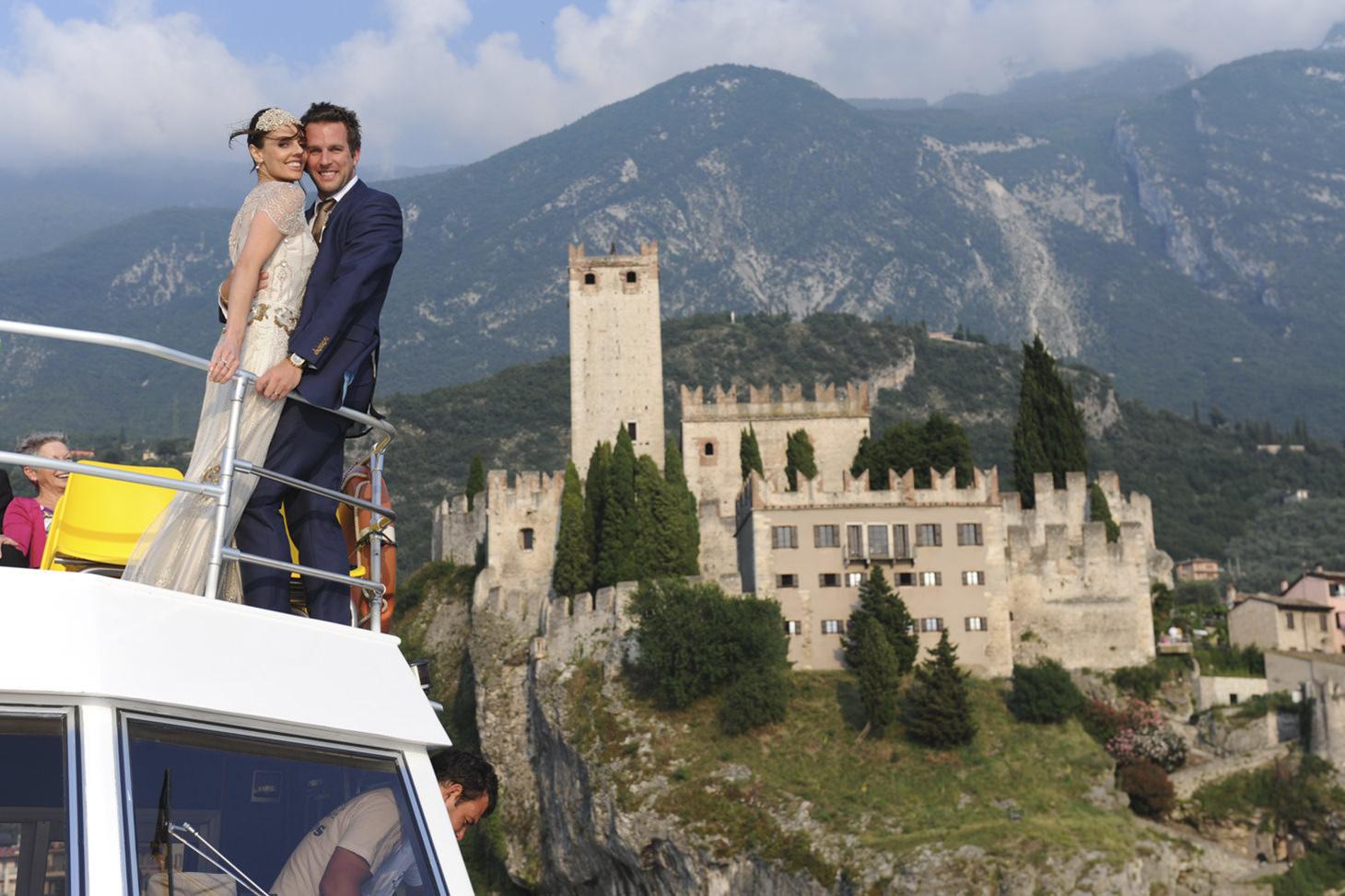 Eve & Rob | Lake Garda
