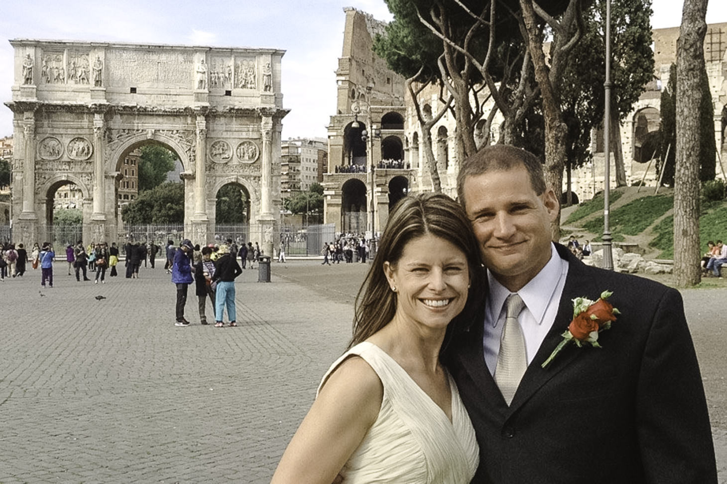 Scott & Becky | Rome