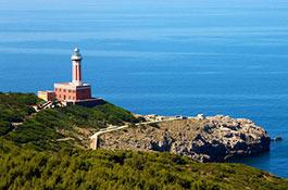 Lido del Faro - Lighthouse beach club for wedding receptions in Capri