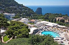 Quisisana Hotel for Capri weddings