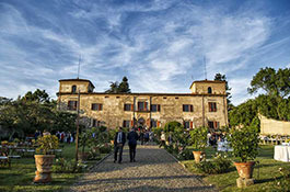 Villa Medicea di Lilliano for destination weddings in Florence