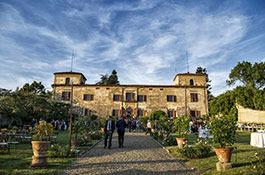 Villa Medicea di Lilliano for destination weddings in Florence