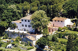 Villa Montefiano for country chic weddings in Florence