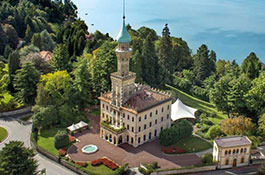 Lake Orta Villa Crespi for weddings