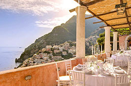 Luxury Private Villa for Weddings in Positano
