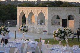 Masseria Traetta for destination weddings in Puglia