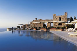 Hotel Caruso for wedding banquets in Ravello