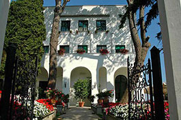 Villa Eva for destination weddings in Ravello