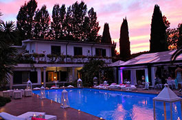 Villa Appia Antica for elegant weddings in Rome
