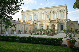 Villa Aurelia, baroque villa for weddings in Rome