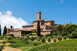 Castello Banfi for castle weddings in Montalcino
