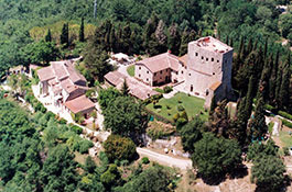 Castello di Tornano for castle weddings in Tuscany