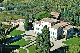 Exclusive Villa di Geggiano for weddings in Siena