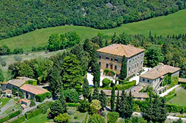 Villa di Ulignano for weddings in Tuscany