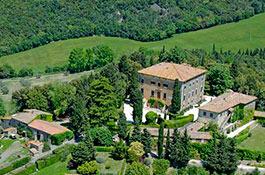 Villa di Ulignano for weddings in Tuscany