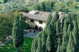 Villa Il Poggiale in the heart of Chianti