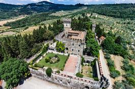 Vincigliata Castle near Florence