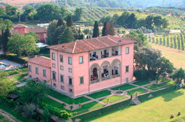 Villa Mangiacane in the countryside of Florence
