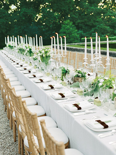 Decorate Your Wedding Reception In Italy Stylish Floral