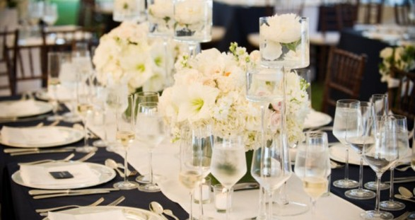 Long Table Decorations Ideas long tables wedding receptions part 2 Roses Amarillis Table Decor