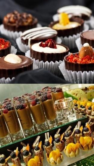 Italian dessert buffet