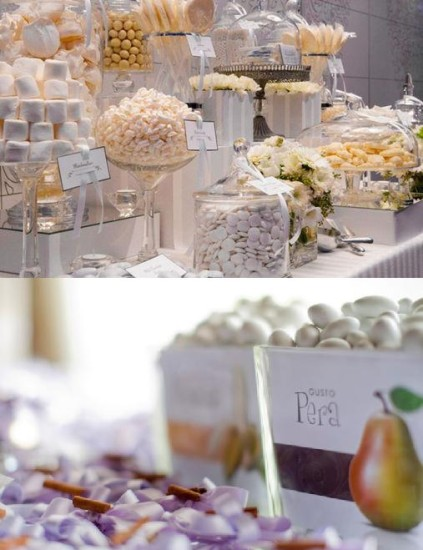 """Confetti"" (sugared almonds) traditional Italian wedding favors"