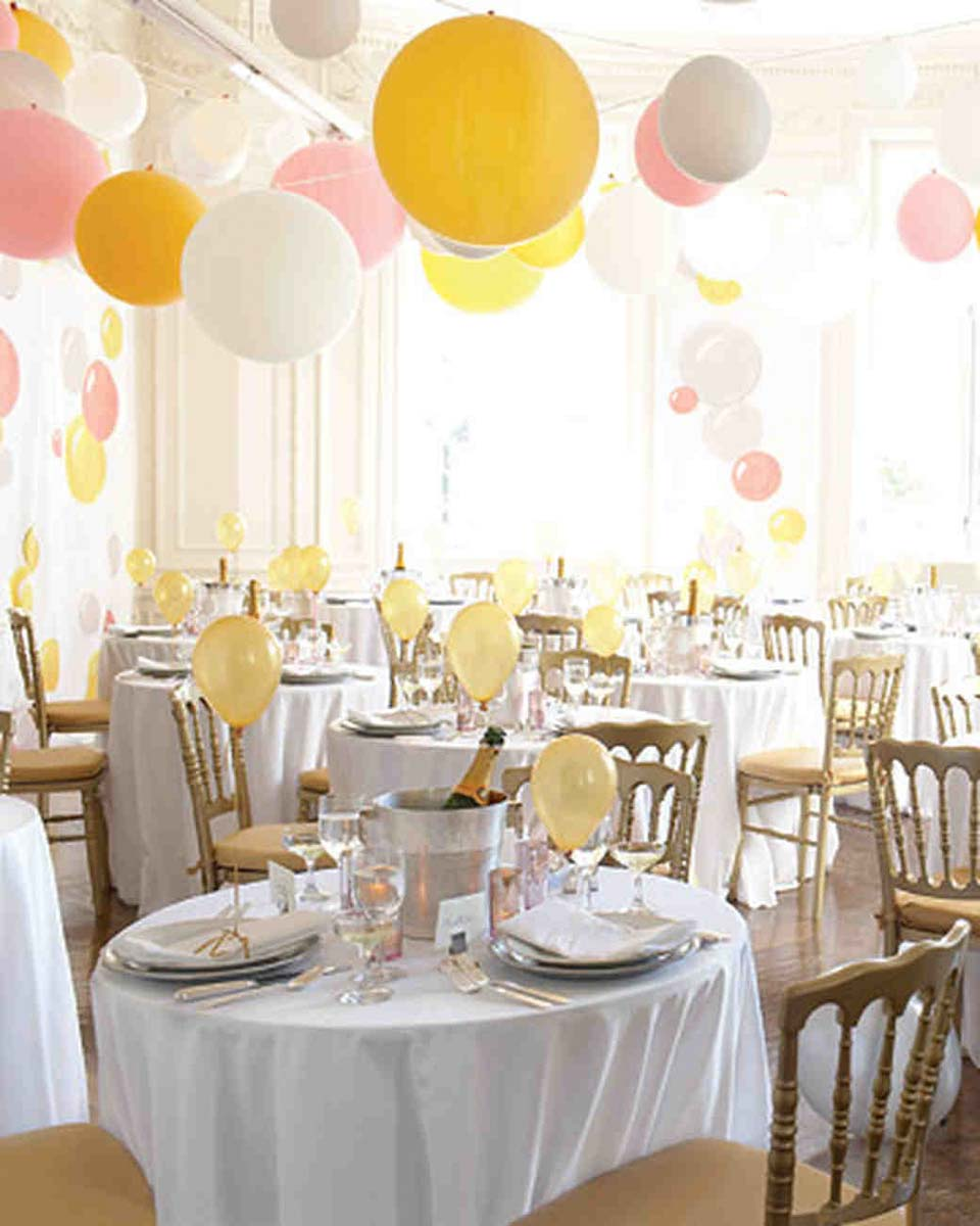 Balloon Decorations For Wedding Reception Ideas: Balloon Decorations For Your Wedding In Italy