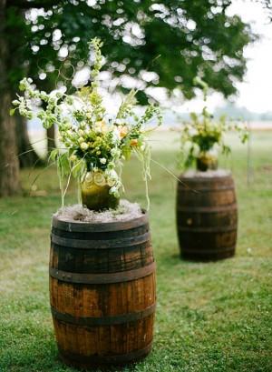Wedding Decor With Wine Barrels Exclusive Italy Weddings