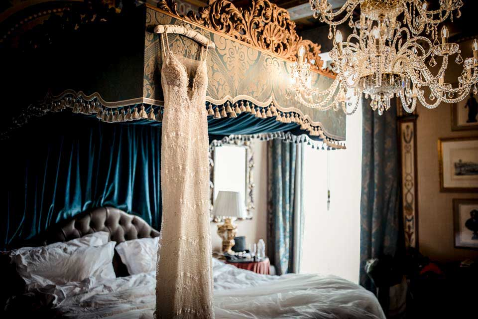 castle canopy bed fairytale castle wedding in florence exclusive italy weddings blog