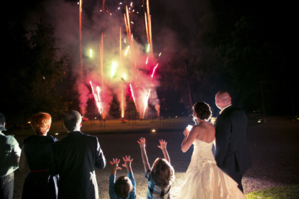 Fireworks for Destination Wedding in Florence