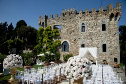 Wedding Ceremony in Vincigliata Castle near Florence