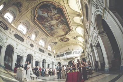 Catholic Wedding Ceremony in Rome