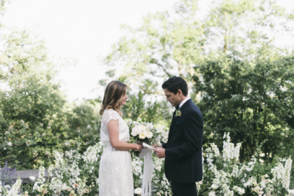 Garden Wedding Ceremony in Tuscany