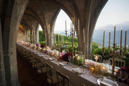 Long Table for Ravello Wedding Banquet